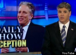 Russell Brand Is In Good Company: Here's Jon Stewart Vs Sean Hannity (VIDEO)