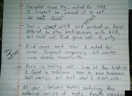House Sitter Leaves World's Most Disturbing Note For Returning Home Owner