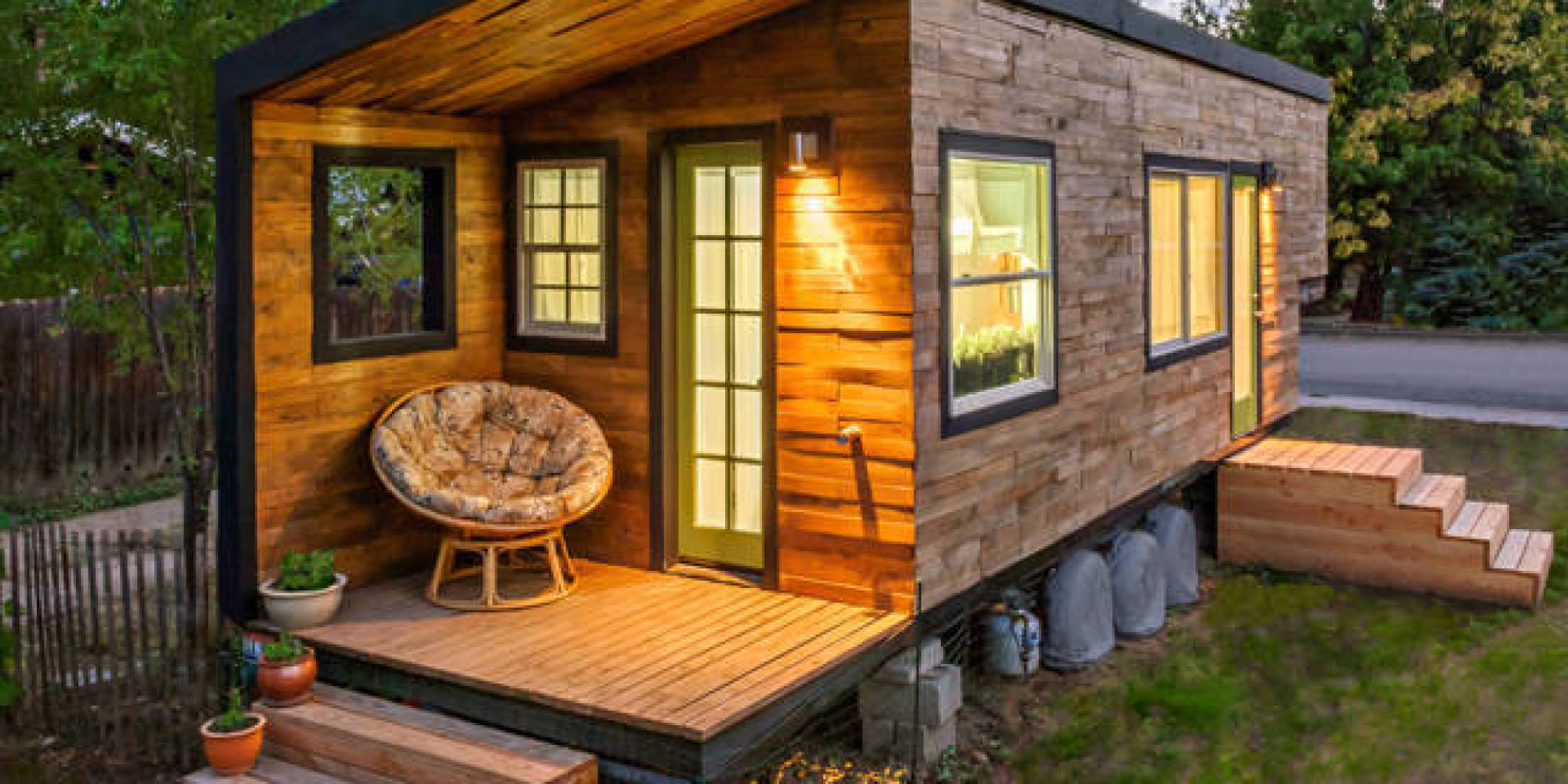 12 of the most impressive tiny houses we 39 ve ever seen huffpost. Black Bedroom Furniture Sets. Home Design Ideas