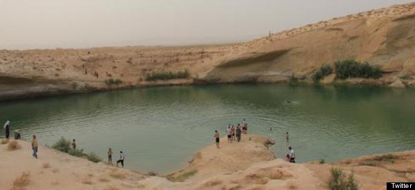 Mysterious Lake Appears In Middle Of Desert