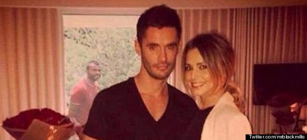 Ashley 'Photobombs' Cheryl And JB Photo