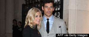 Mollie King David Gandy