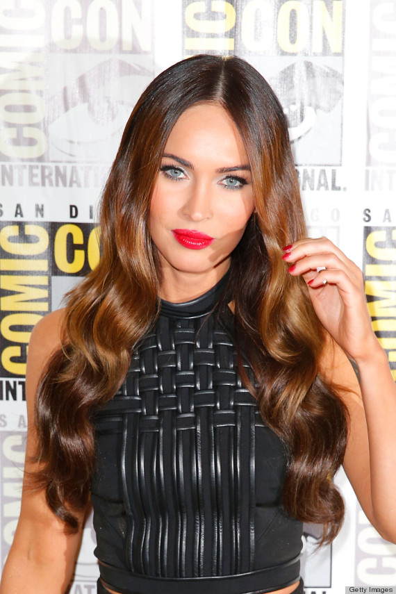 Megan Fox Makes Frosty White Eyeliner Look Freaking