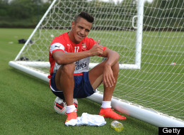 First Day Photos: Sánchez Trains With New Arsenal Teammates