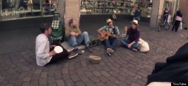 'Attention Seeking' German Students Cause Uproar After Using Fake Homeless Man In Video