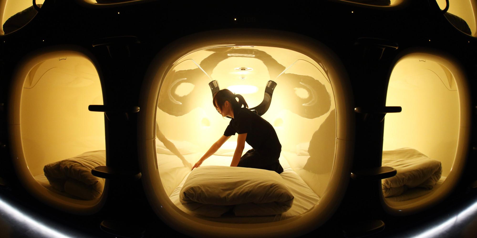 Capsule Hotel Japan >> Nine Hours Capsule Hotel Is Basically A Human Recharging ...