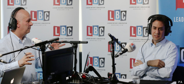 Miliband Attacked On Radio For Not Supporting Parents Who Care For Children Rather Than Work