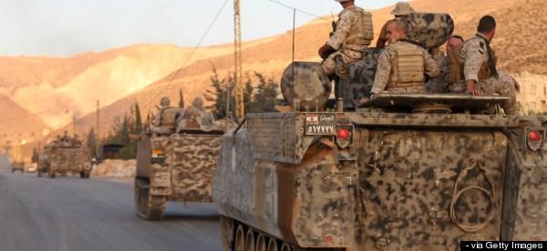 Syria's Islamist Rebels Battle Troops In Lebanon