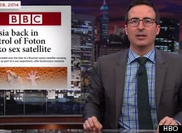 John Oliver Saves 'Sex Geckos' Lost On Russian Space Craft