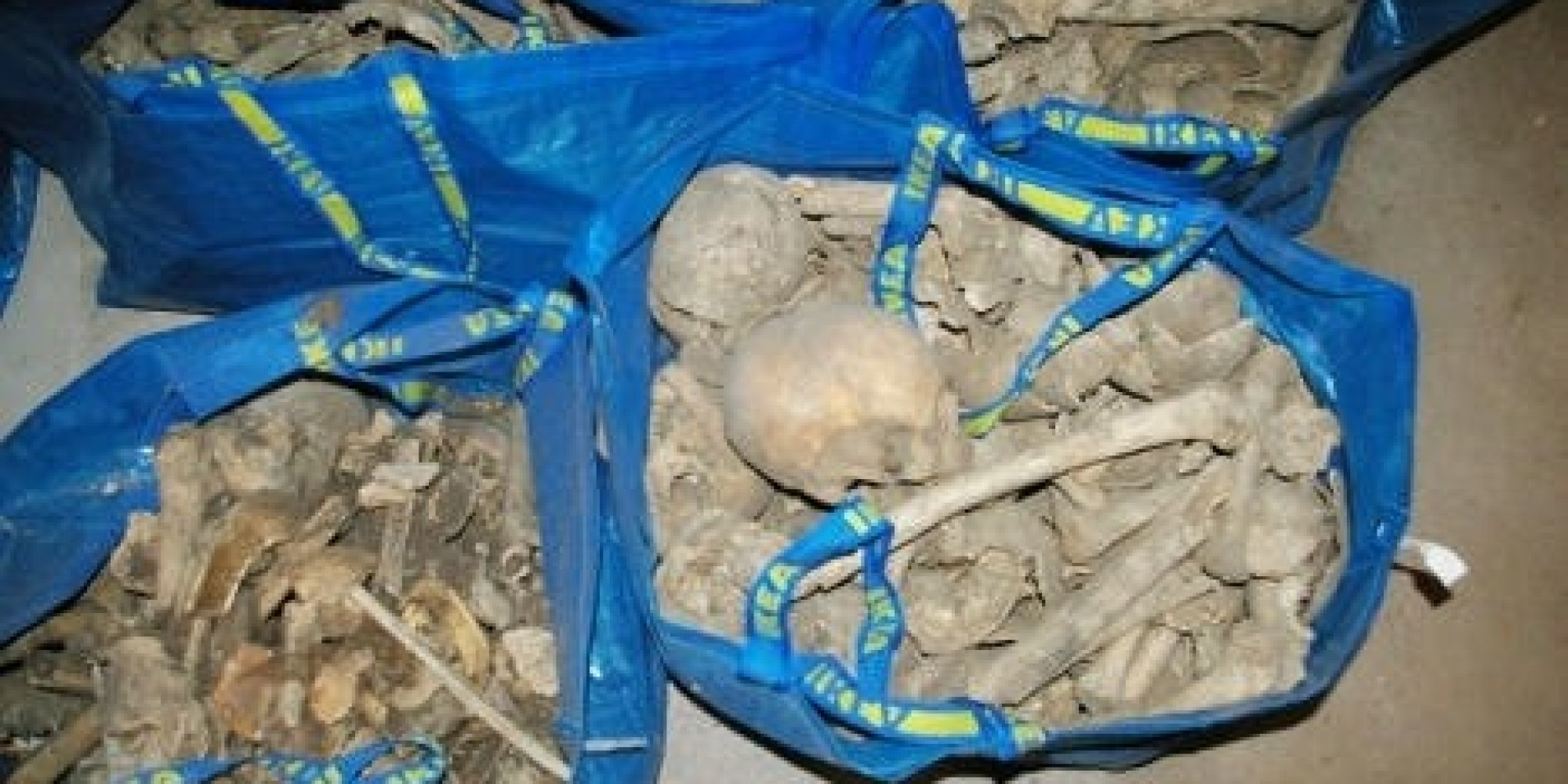 woman finds ikea bags filled with human bones huffpost. Black Bedroom Furniture Sets. Home Design Ideas