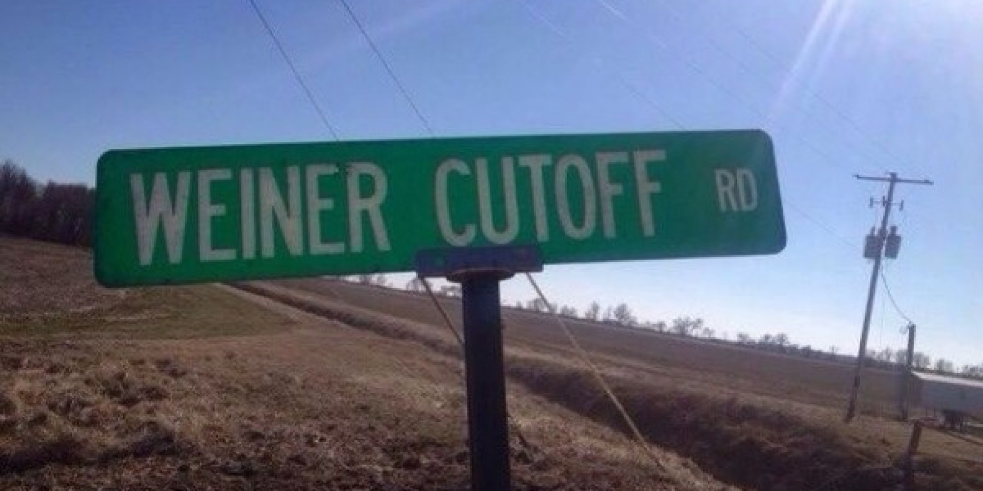 Funny Street Sign Names Please Don t Make Us Give