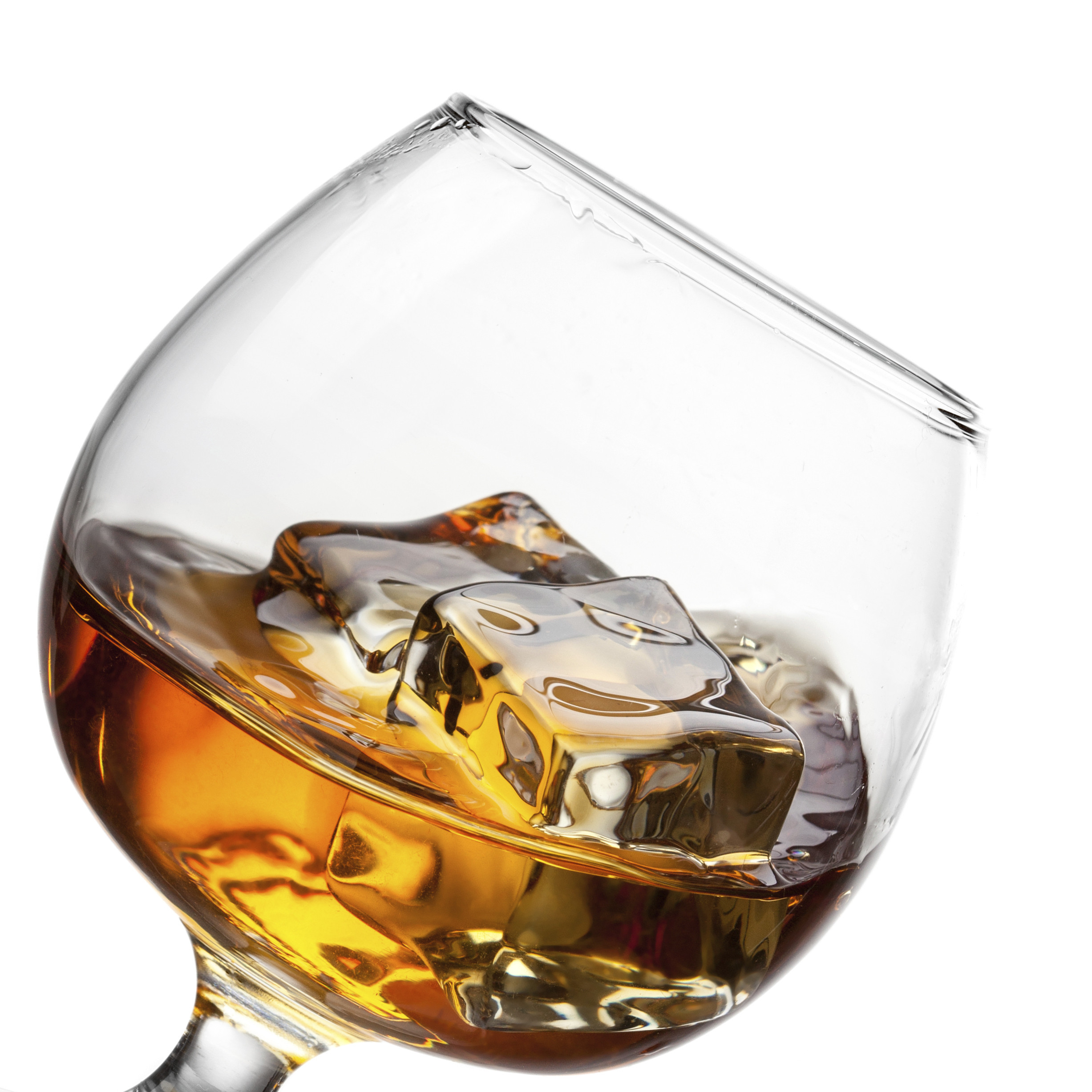 whiskey square ice cube