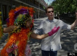 Andrew McCarthy Has Colorful Conversations With NOLA Locals