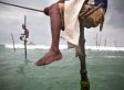 PHOTOS: The Stilt Fishermen Of Sri Lanka