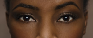 Black Woman Eyes