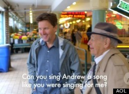 Andrew McCarthy Gets Serenaded At Pike Place Market