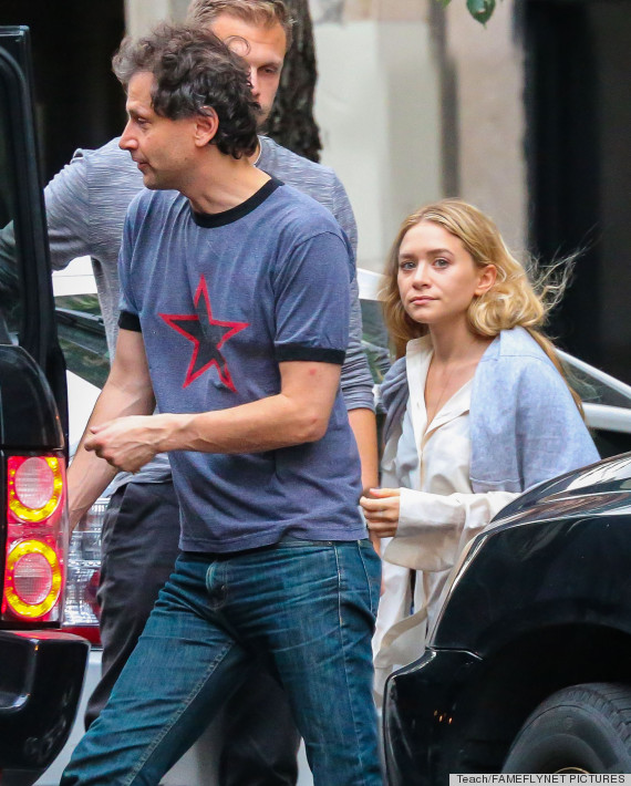 Olsen twin dating old guy