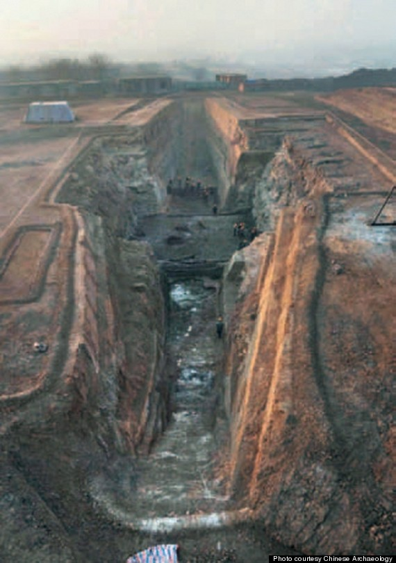 mausoleum discovered china