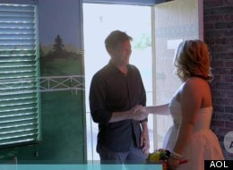 Andrew McCarthy Gives Pep Talk To Vegas Bride