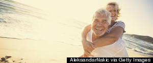 OLDER MEN LAUGHING