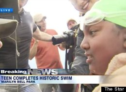 14-Year-Old Becomes Youngest Person To Swim 32 Miles Across Lake Ontario
