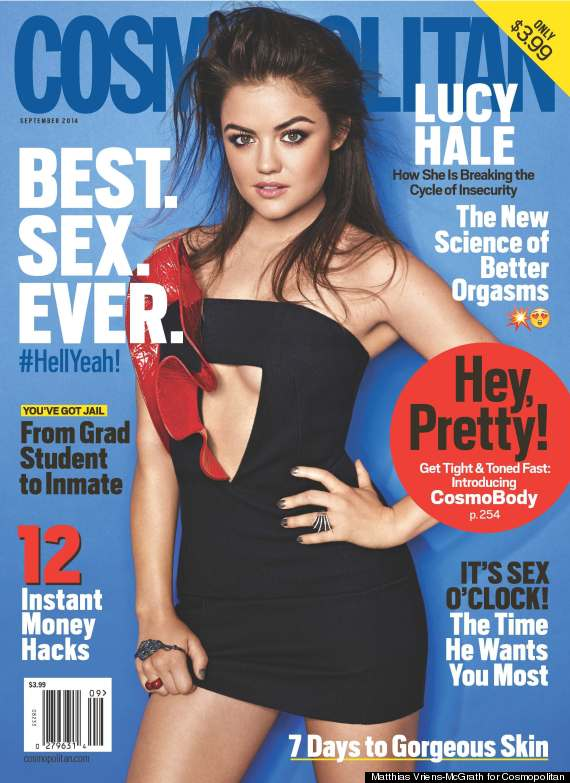 lucy hale cover
