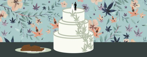 This Is What Really Goes Down At A Weed Wedding