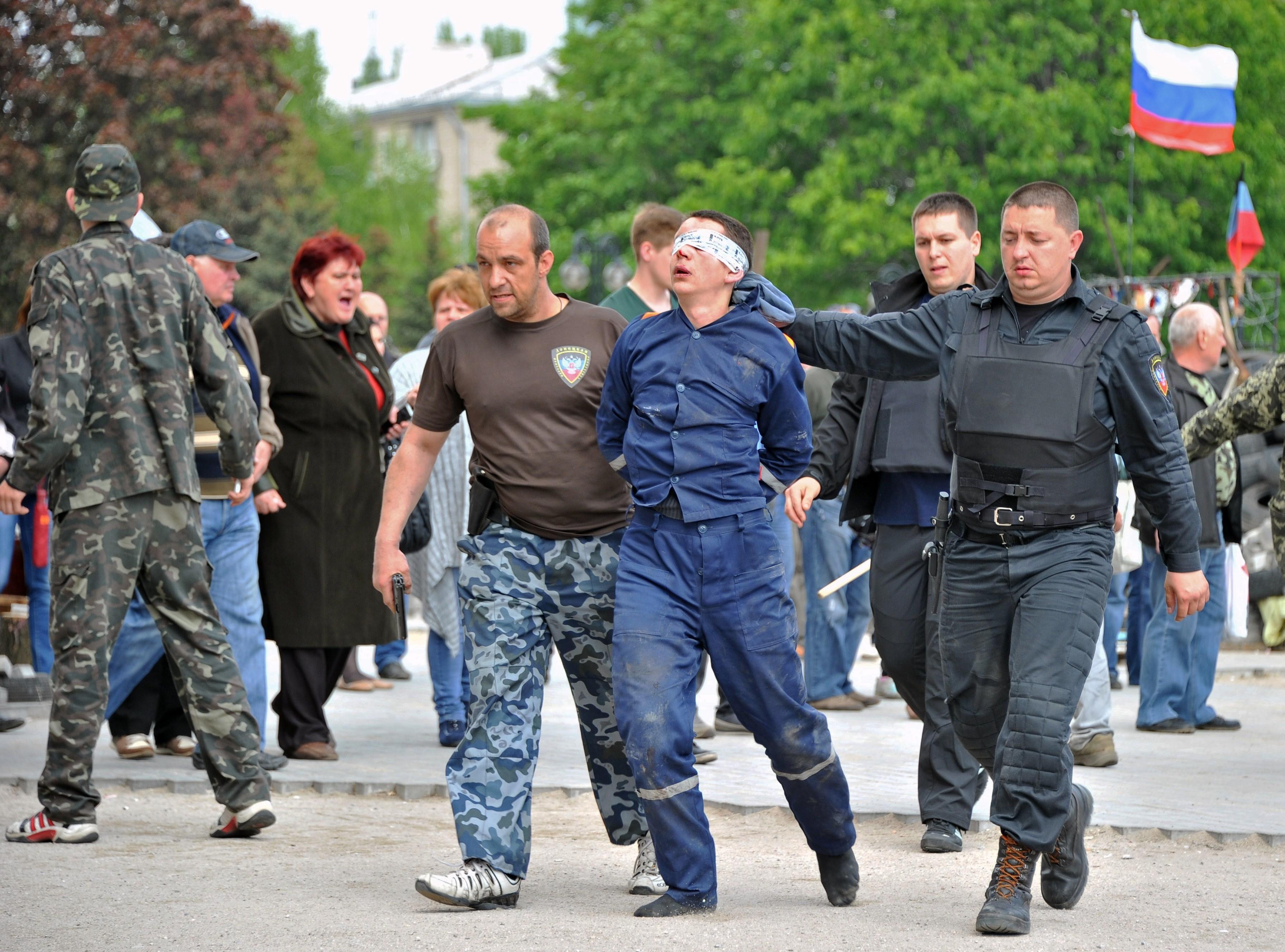 ukraine abducted