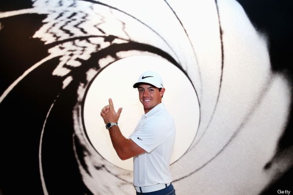 rory mcilroy james bond