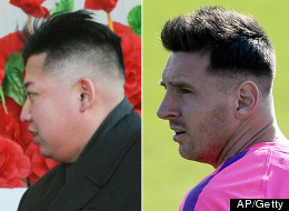 Lionel Jong-Un? Messi Opts For The Dictator Look