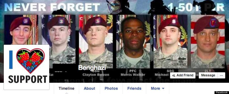 facebook benghazi