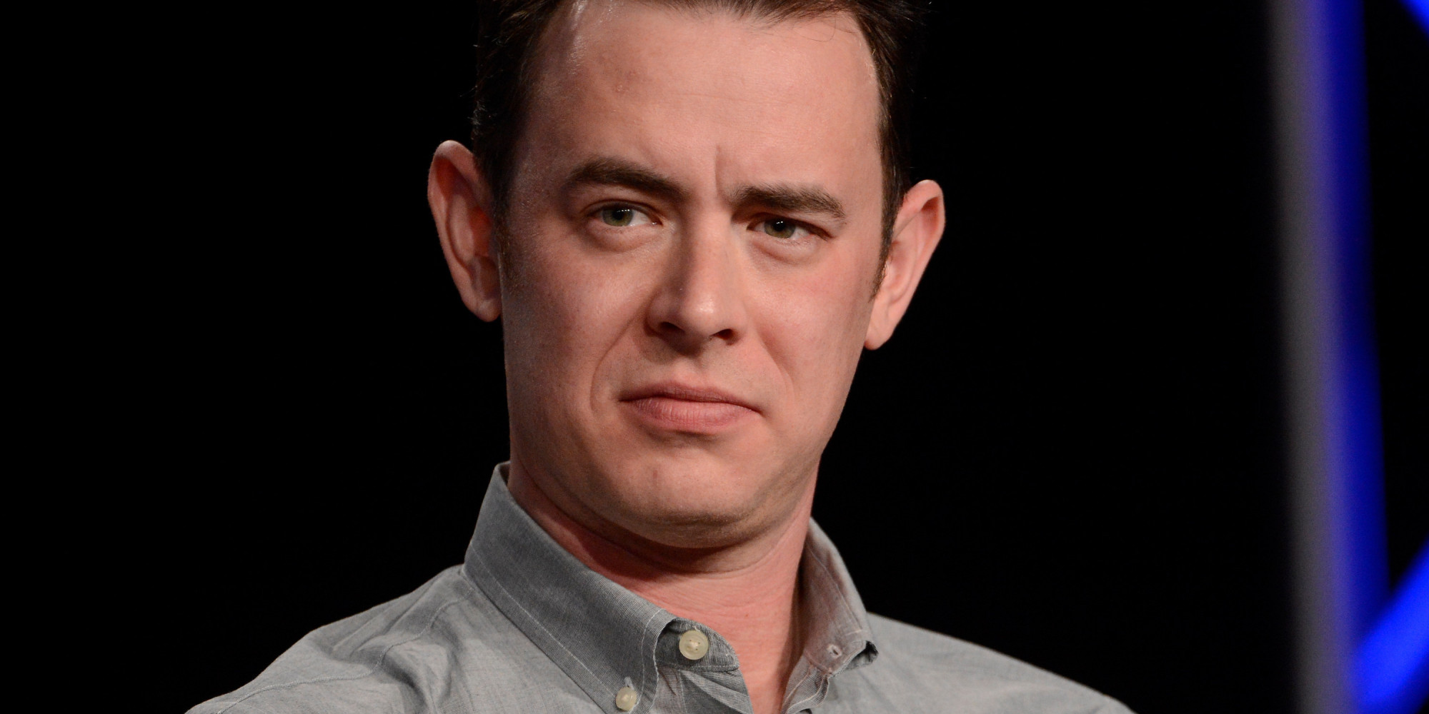 Colin hanks gives calgary winters the cold shoulder