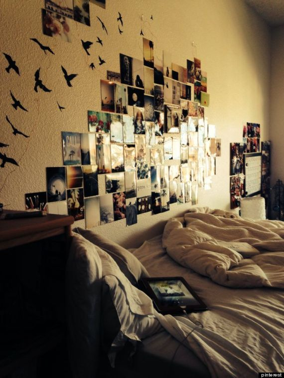 32 ideas for decorating dorm rooms courtesy of the internet huffpost - Room decor ideas pinterest ...