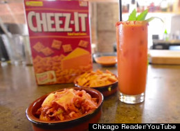 Yes, A Cheez-It And Kimchi Cocktail Actually Exists