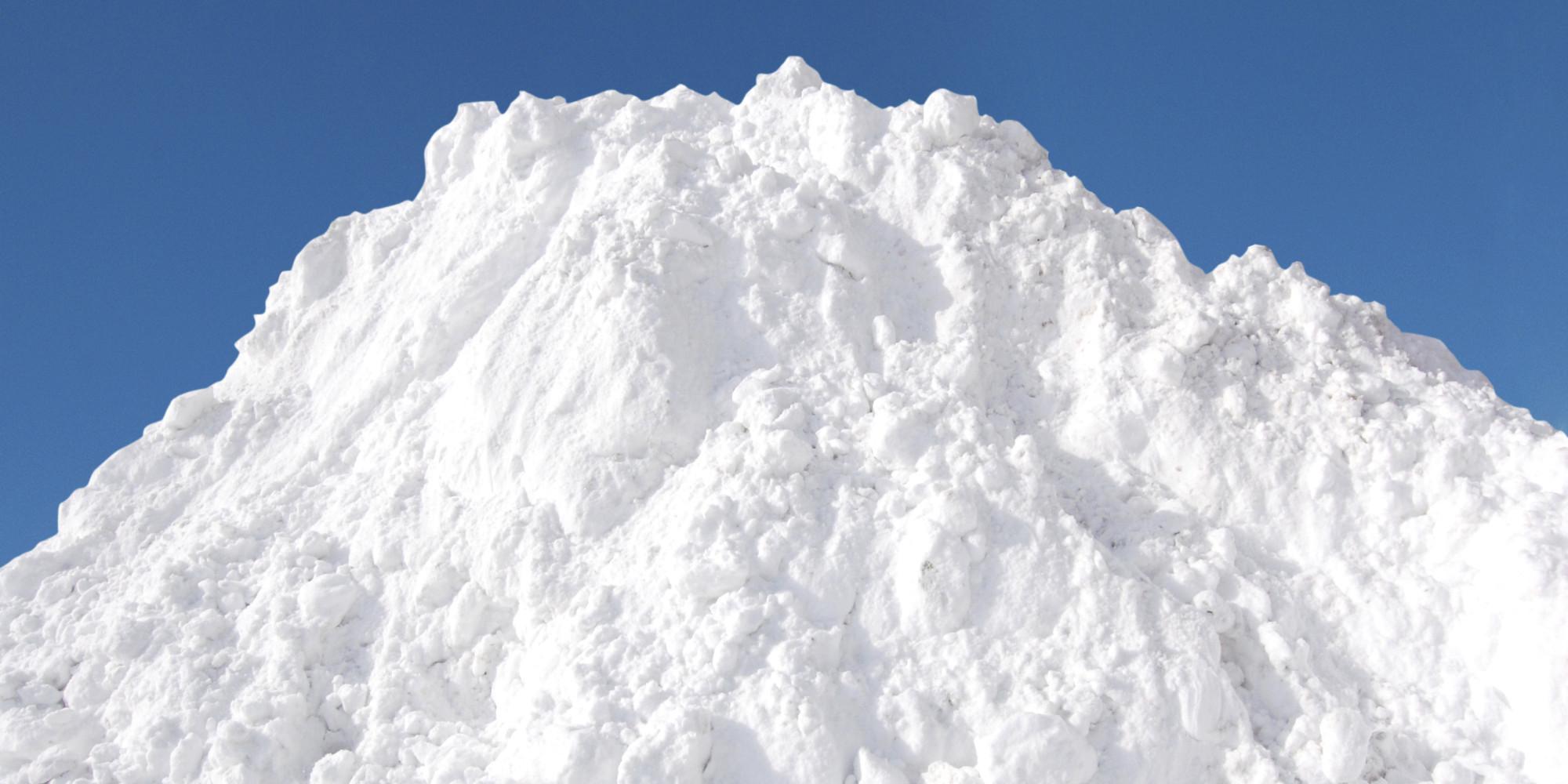 Winnipeg Snow Pile Measures 18 Metres High In One City Dump
