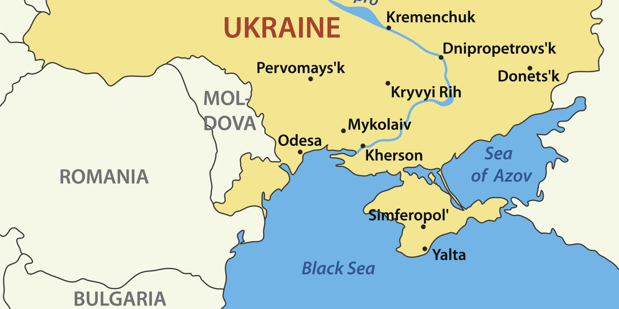 After Russia S Annexation Of Crimea A Nation Under Siege