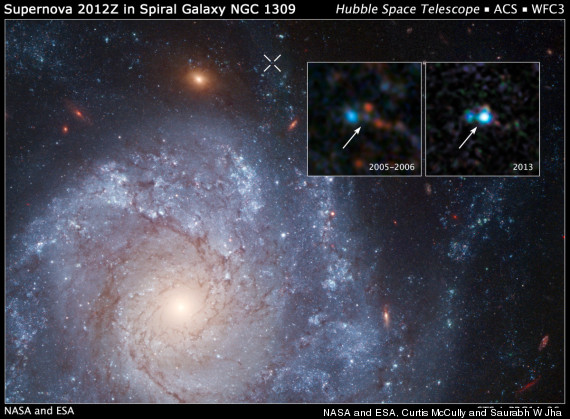 supernova zombie stars