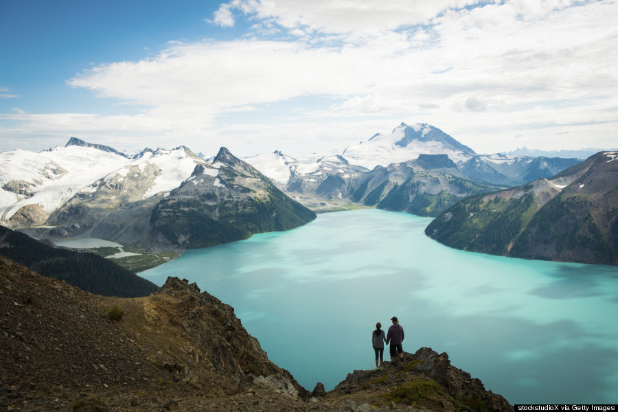 Garibaldi Is A Beautiful Volcanic Lake Hiding Out In