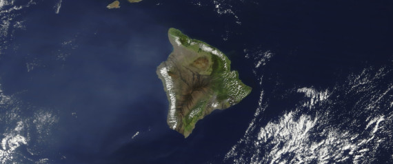HAWAII FROM SATELLITE