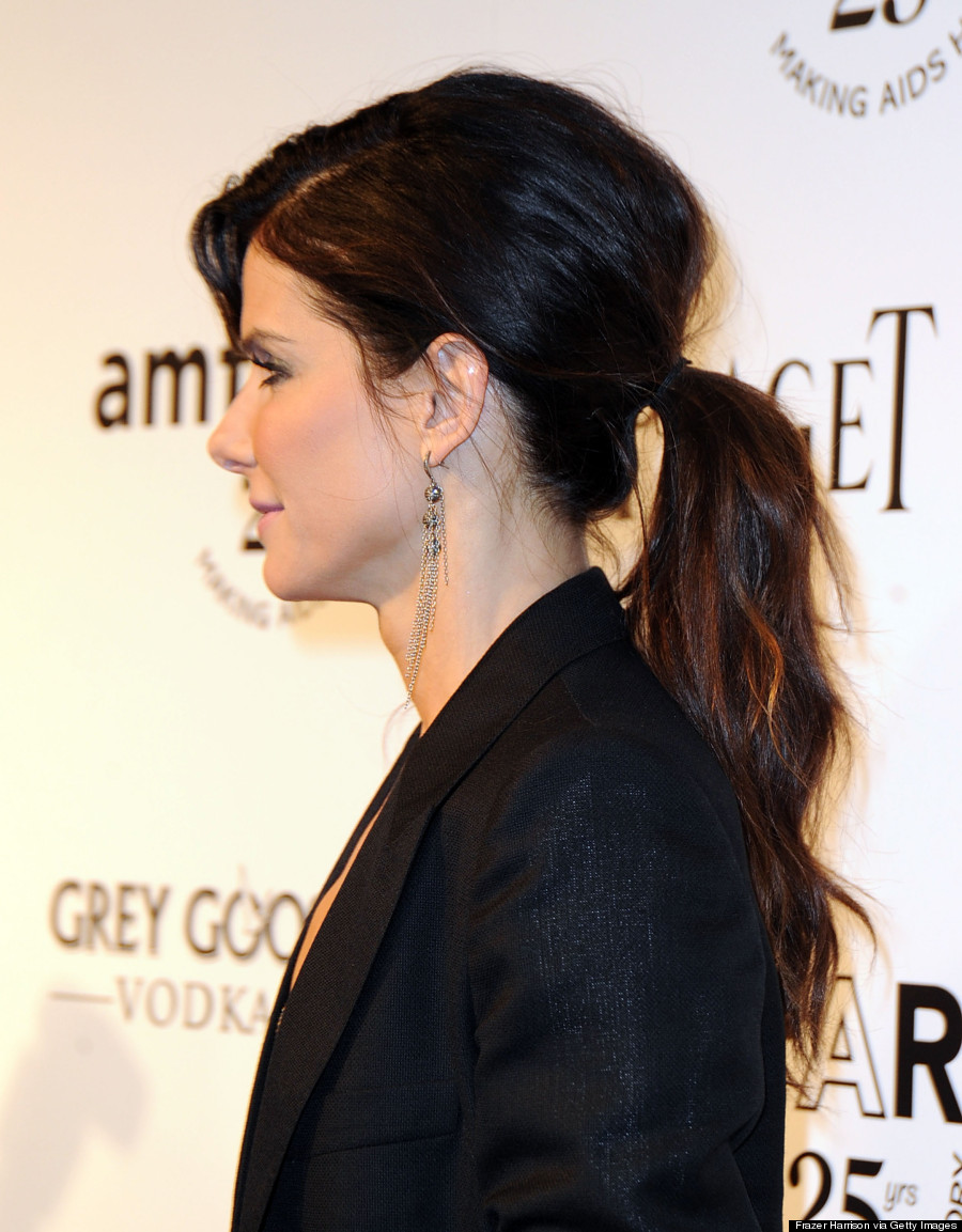 the best celebrity ponytails of all time (photos)