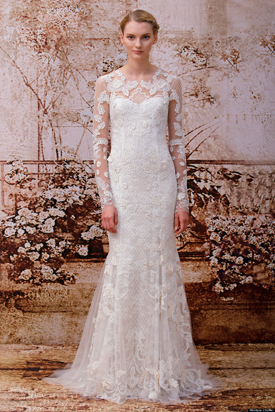 16 reasons why fall wedding dresses are the best for Lace winter wedding dresses