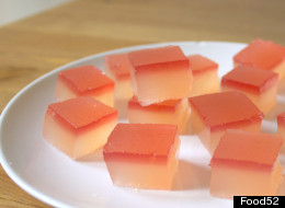 Make Your Own Champagne Rhubarb Jelly Shots