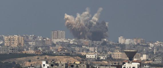 BOMBARDEMENTS GAZA