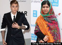 Um, Why Are Justin And Malala FaceTiming?