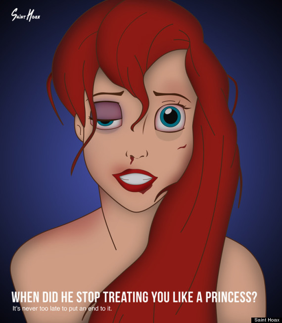 the little mermaid domestic abuse
