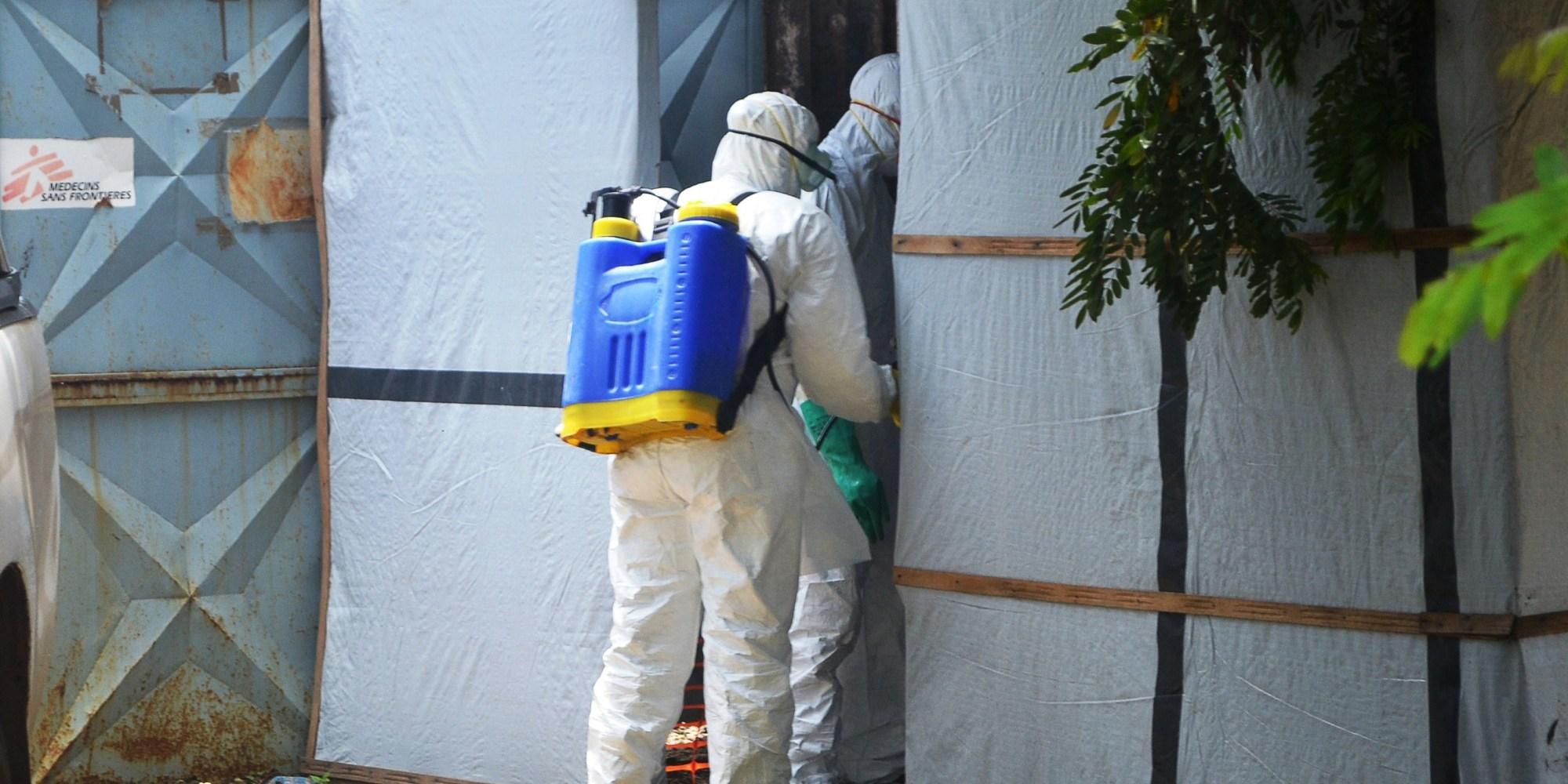 Rastreo de Breakout de Ébola a un africano 2-Year-Old.