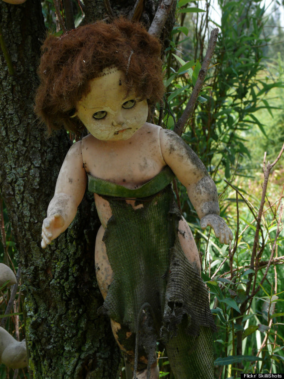 Isla De Las Munecas Is The Island Of Decapitated Dolls