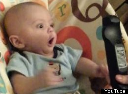 This Baby Already Understands The Power Of A Remote Control