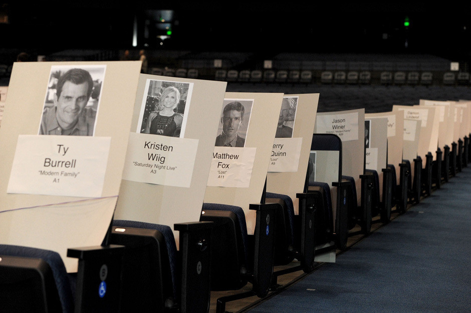 emmy seating charts  inside the award show pecking order