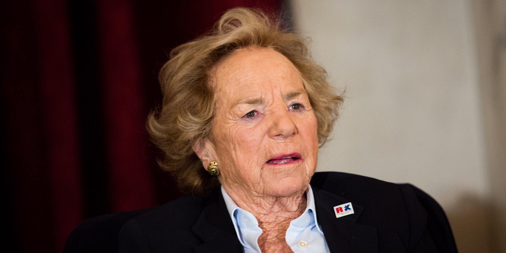 Ethel Kennedy Adorably Participates In Ice Bucket ...
